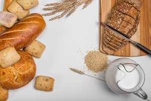Bread Header Background