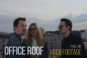 Office Roof - Video Footage Clip