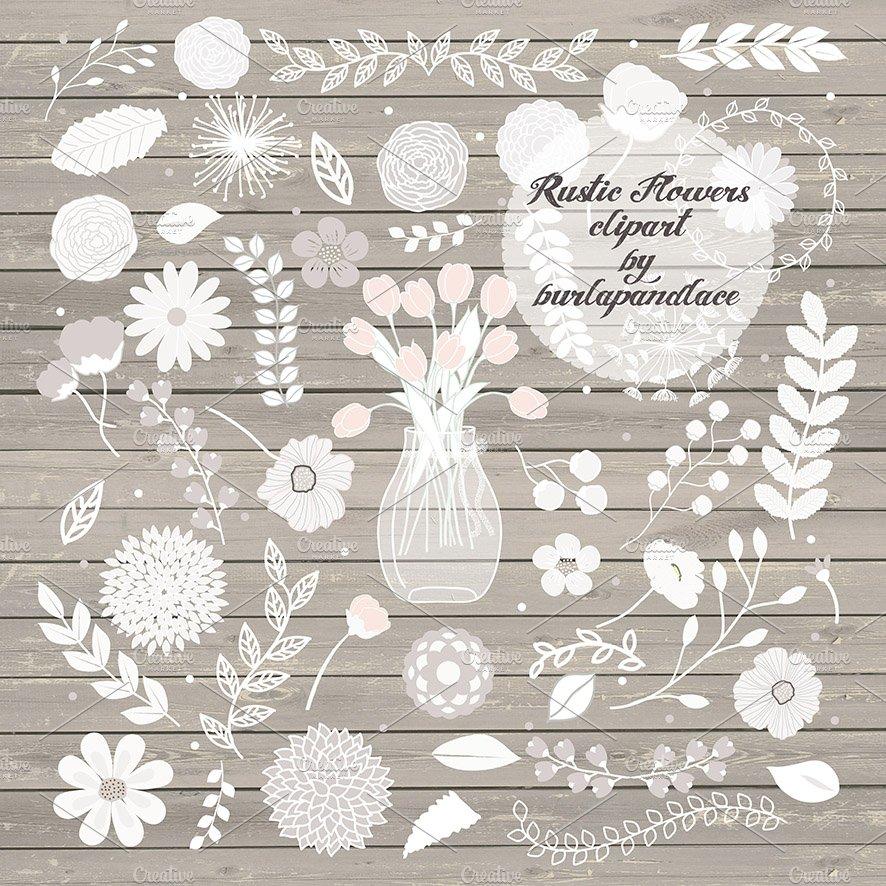 Rustic Flower Ii Illustrations Creative Market