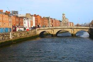 Queen Maeve Bridge in Dublin