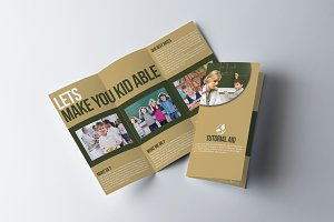 Tri Fold Education Brochure