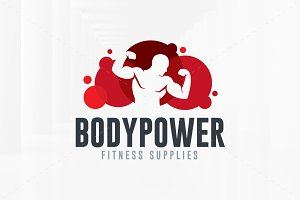 Body Power Logo Template