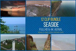 Seaside: 12 Video Footage Bundle