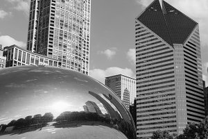 Chicago Architecture and The Bean