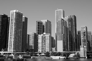 Windy City Chicago Skyline