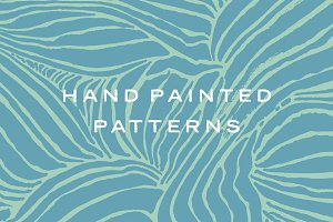Vector Hand Painted Patterns