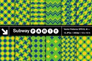 Rio Geometric Vector Patterns