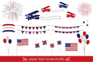 Fourth Of July American Clip Art