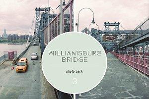 Photo Pack - Williamsburg Bridge