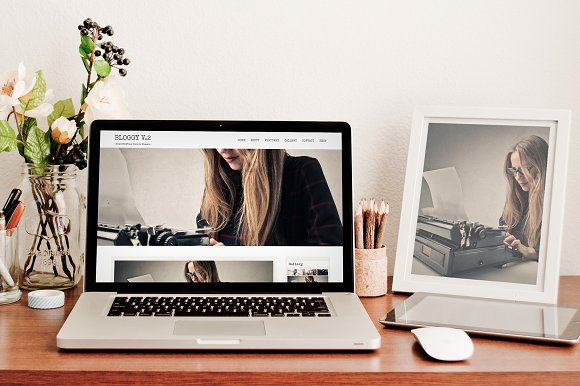 Bloggy v.2 - Blog WordPress Theme