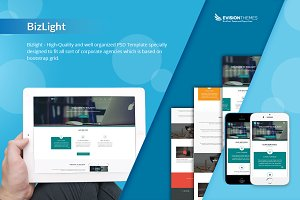 Bizlight - A Business PSD Template