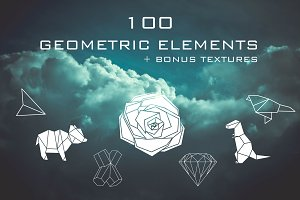 100 Geometric elements + bonus!