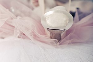 Ballerina dress pointes
