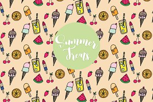 Summer Treats Clip Art