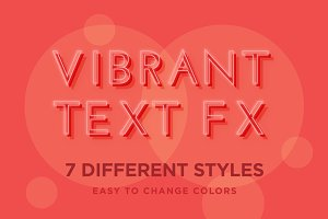 Vibrant Text Effects