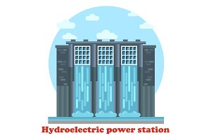 Large hydroelectric power station