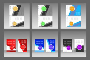Template brochures and presentations