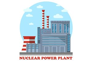 Nuclear power plant with reactor