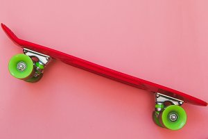 Red Skateboard