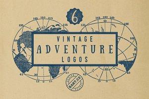 6 Vintage Adventure Logo