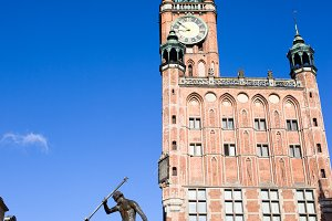 Town Hall and Neptune in Gdansk