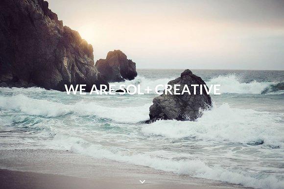 Sol - Agency Portfolio WP Theme