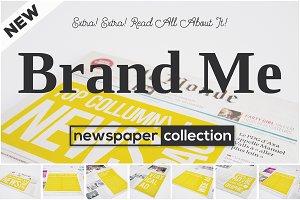 Brand Me - Newspaper Ad Mock-ups