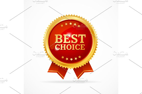Best Choice Label. Vector - Illustrations