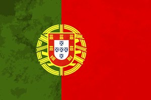 True proportions Portugal flag
