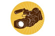 Professional Video Camera Camcorder