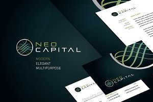 RW Modern Corporate Identity + Logo