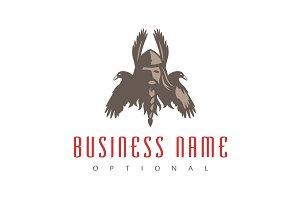Nordic God & Ravens Logo