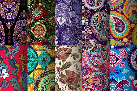 Indian Patterns.Best-sellers.Part 2 - Patterns