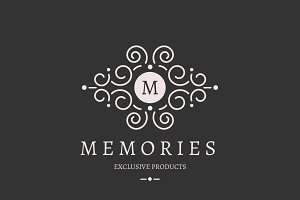 Memories Letter M logo