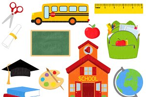 School Clipart and Vectors