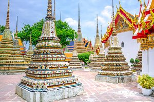 Beautiful Wat Pho temple in Bangkok