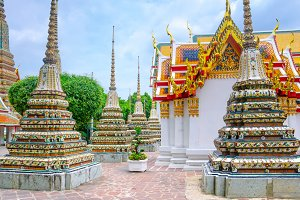Temple of Reclining Buddha, Wat Pho