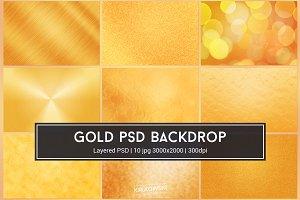 Gold Texture PSD