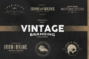 Vintage Branding -- Logos & Badges