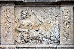 Goddess Athena Relief
