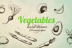 Vector Vegetable Pack