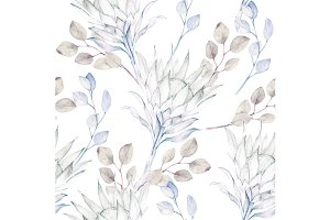 Vintage Kind Protea Pattern