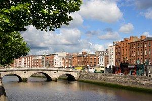 City of Dublin in Ireland