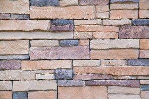 Sand stone wall pattern