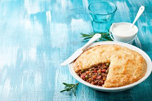 Traditional cottage pie (Shepherd's pie)