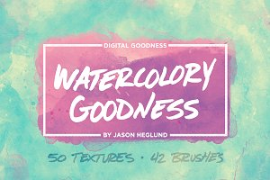 Watercolory Goodness Bundle