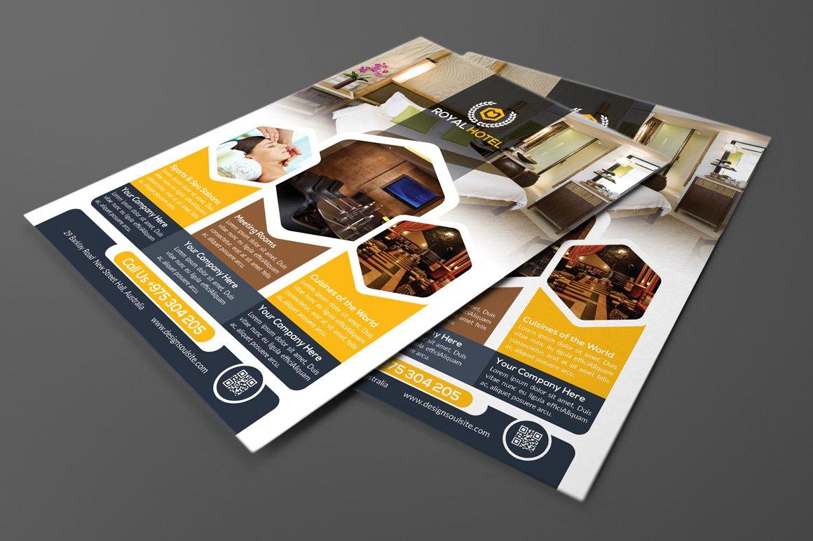 Guidebook Brochure Brochure Templates Creative Market - Hotel brochure template