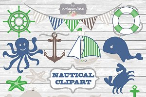 VECTOR / Nautical clipart