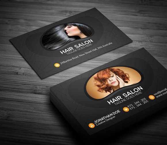 hair salon business card business cards - Hair Salon Business Cards