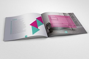20 Pages Bi Fold Brochure Catalog